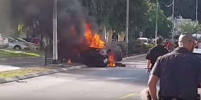 ניסיון חיסול בנשר - צעיר נפצע קשה בפיצוץ מכוניתו