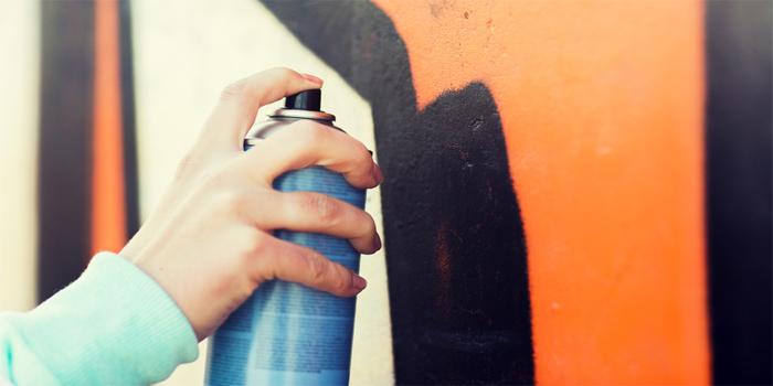 ריסוס גרפיטי - עבירה פלילית או אומנות מעוררת השראה