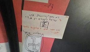 כתובות נאצה נגד המדינה והציונות נמצאו במאחז הבלדים של נוער הגבעות