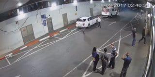תקפו מאבטחים בבית החולים איכילוב ונמלטו