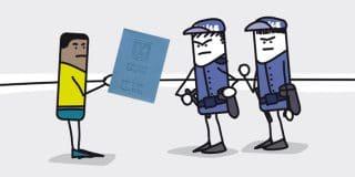 מתי מותר לשוטר לבצע חיפוש בגופו של אדם?