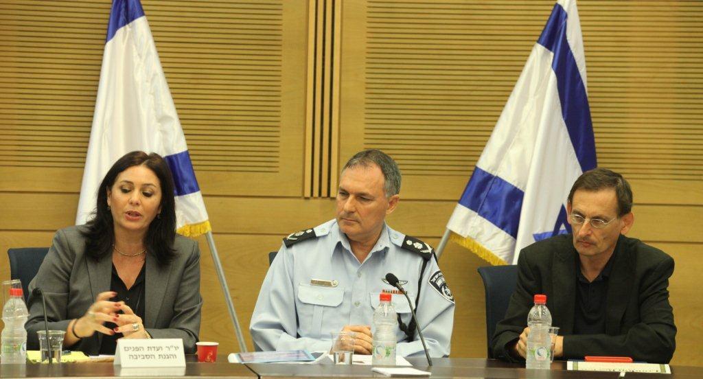 """בתמונה: מפכ""""ל המשטרה לשעבר יוחנן דנינו. זכויות בתמונה: כנסת ישראל ©"""
