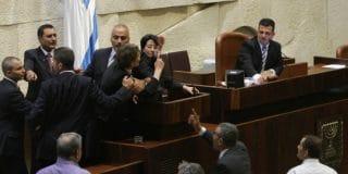 כתב אישום בגין העלבת עובד ציבור כנגד חברת הכנסת חנין זועבי