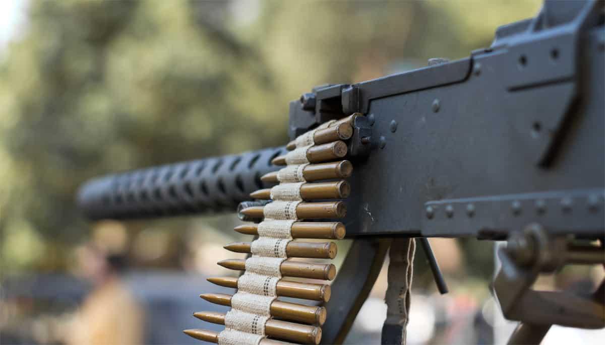 שחרור לקוח שנמצא מחזיק בנשק מסוג מקלע 0.5